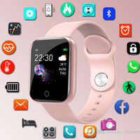 Mode Smart Band Frauen Männer Smartband Für Android IOS Smart-Armband-Armband Fitness Tracker Silikon Handgelenk Band Smart-band