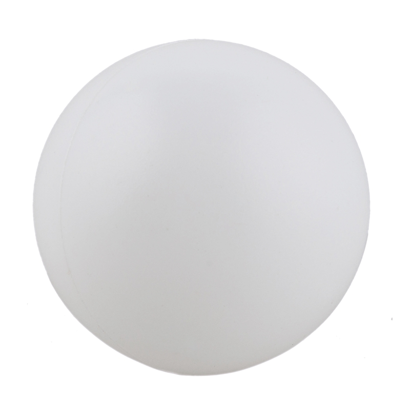 Pack Of 12 Plain White Unbranded Table Tennis Balls