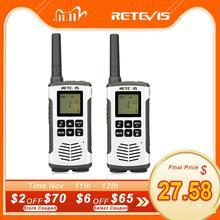 Retevis RT45 PMR راديو لاسلكي تخاطب 2 قطعة PMR PMR446 FRS مفيد اتجاهين راديو التواصل الأسرة لاسلكي تخاطب