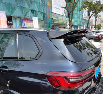 For BMW X5 spoiler G05 spoiler 2018-2019 rear wing spoiler Paste Installation carbon fibre  Material Rear Roof Trunk Spoiler