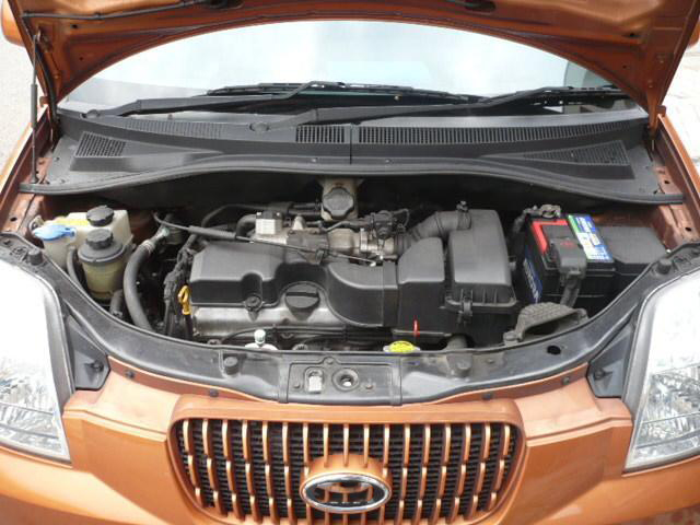 Support de levage en Fiber de carbone, tige de choc, pour Kia Picanto Morning (SA) 2004-2011, capot avant de modification, ressort à gaz