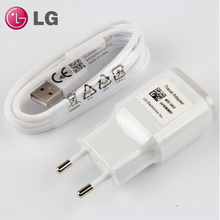цена на Original LG G5 EU Plug Fast Travel Wall Charger USB Cable For LG Nexus G5 V30 V20 G6 F800 F700 H860N H990N MCS-H05WD With Type-C