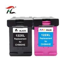 122XL cartuchos de tinta compatíveis Para 1050A HP122 XL Para HP Deskjet 122 1000 1050 1510 2000 2050 3000 3050 Printer