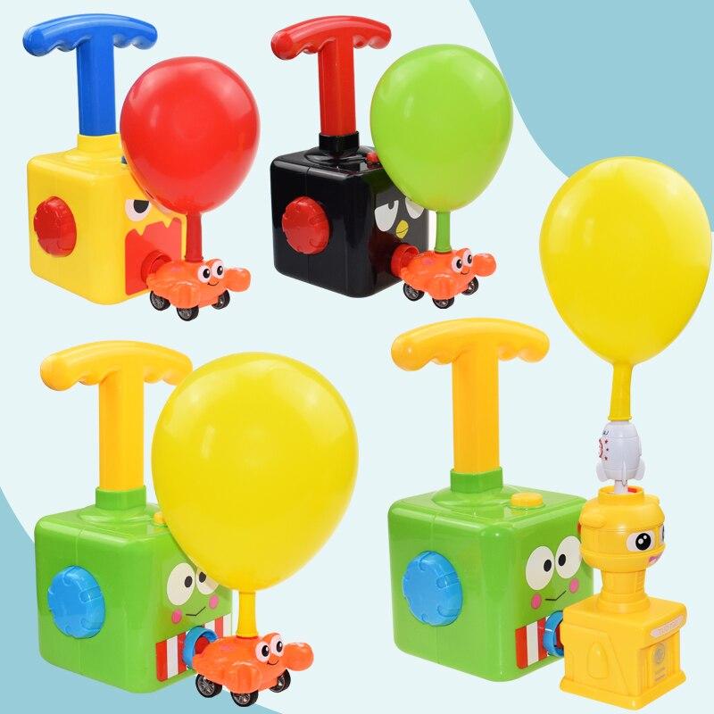 Головоломка Монтессори инерции шар пусковое устройство Мощность ed Комплект детских игрушек со вкусом Мощность автомобиля образовательных...