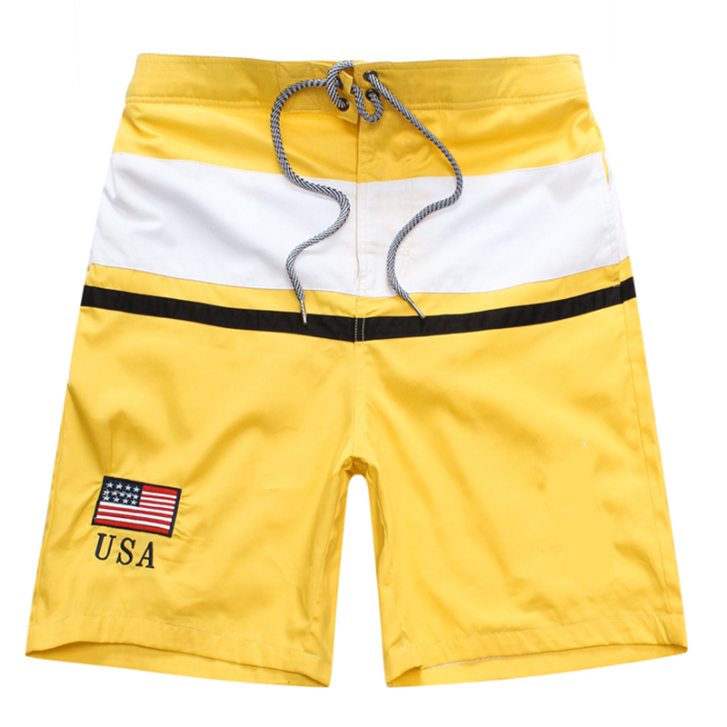 Summer Casual Cool Big Pony Shorts Gyms Fitness Sportswear Bottoms Male Running Training Quick Dry Beach Short Pants