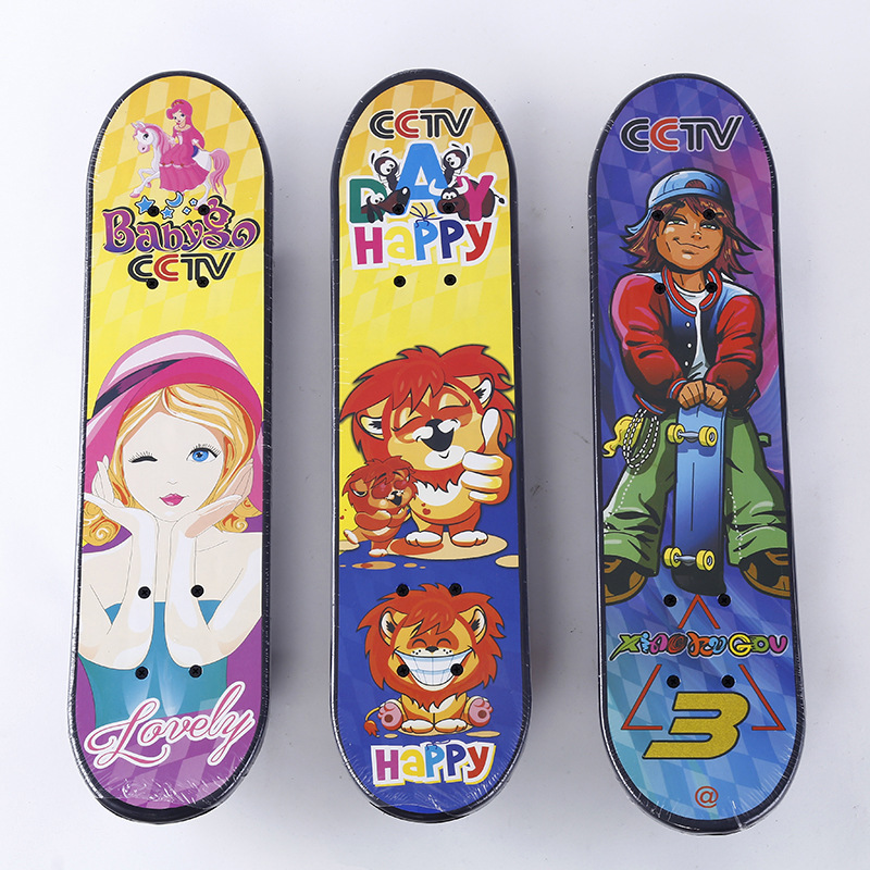 2018 New Style Double Snubby Four Wheel Skateboard  ride Instead Of Walk Highway Brush Street Long Board Creative Customizable S