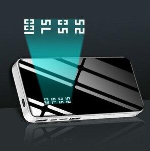 Image 5 - 30000mAh مرآة قوة البنك شاحن بطارية LCD المزدوج USB قوة البنك ل شاومي آيفون X 8 7 6s هواوي P20 لايت