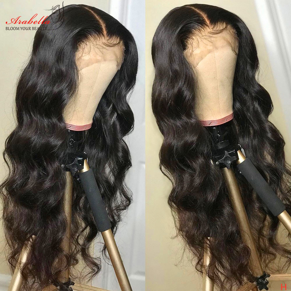 13x4 Lace Front  Wigs ARABELLA Hair 200% Density  Hair Pre Plucked  Body Wave Lace Front Wig Glueless 1