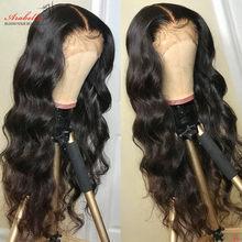13x4 dentelle avant perruques de cheveux humains ARABELLA cheveux 200% densité Remy cheveux pré plumé brésilien vague de corps dentelle avant perruque sans colle