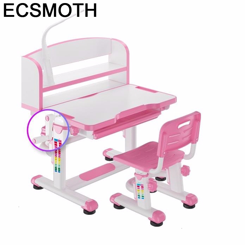 Pour Mesinha Y Silla Tavolo Per Bambini Toddler Baby Escritorio Adjustable Kinder Mesa Infantil Enfant Study Table For Kids