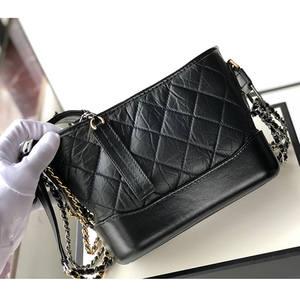 Handbags Chain-Bag Crossbody-Bag Hobo Woc Designer Calfskin Genuine-Leather Women Luxury