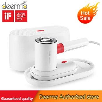 Deerma HS200 2 ב 1 קיטור בגד/שטוח ברזל 1000W נייד קיטור גיהוץ מכונה 110ml מים טנק 1000W 180 ℃ עבור נסיעות בית