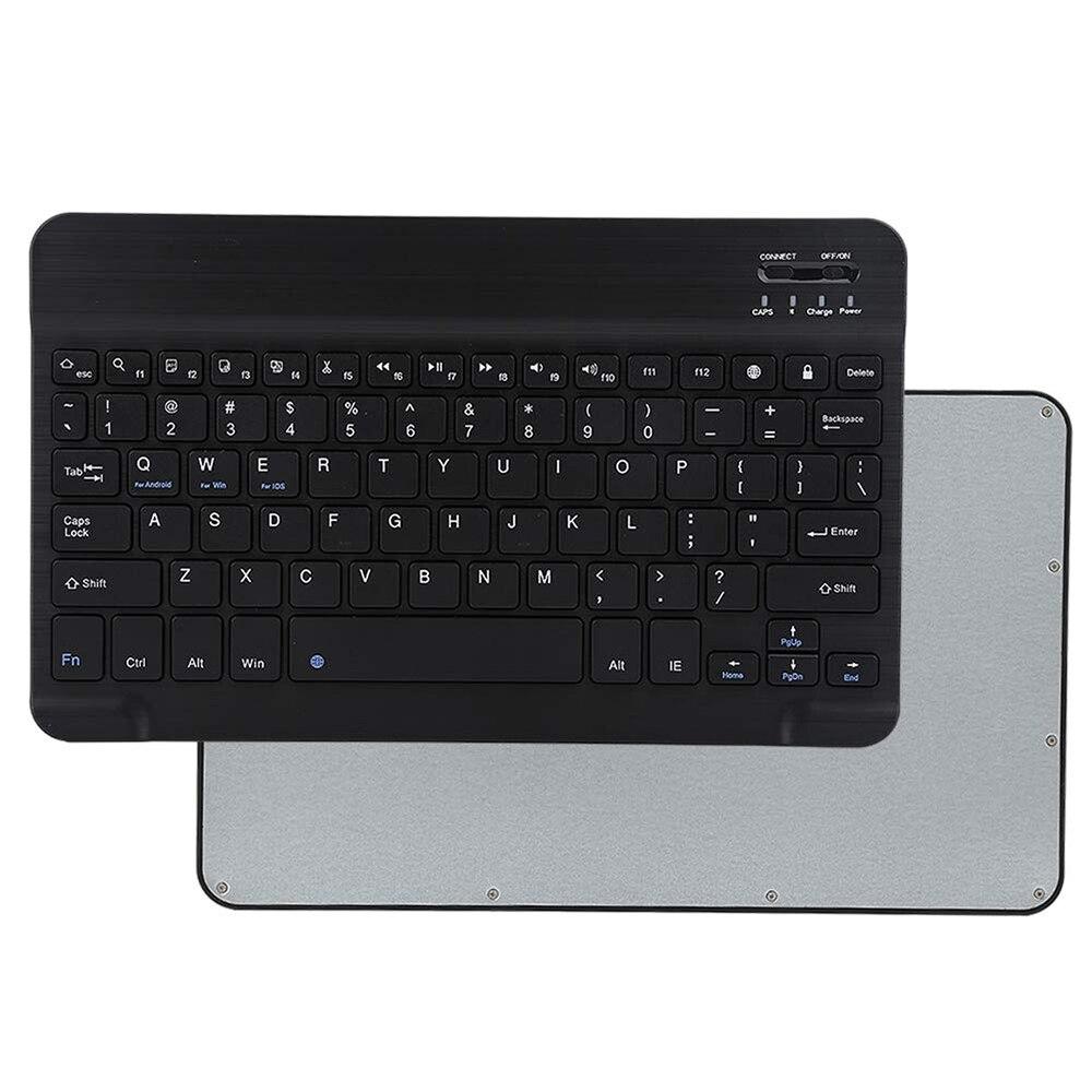 ipad mini black ANRY AN25 Slim Mini Bluetooth Wireless Keyboard Black 10.1 inch For Android Tablet iPad Apple iPhone Smart Phone iOS Windows (3)
