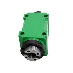 750W 1HP głowica zasilająca ER20 Chuck jednostka wrzeciona 60mm 80mm mechaniczne wrzeciono CNC wiercenie frezowanie wytaczarka obrabiarka w Narzędzia tokarskie od Narzędzia na