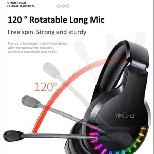 Image 4 - N1 3.5mm USB סטריאו wired משחקי אוזניות משחק אוזניות על אוזן RGB עם מיקרופון קול שליטה עבור מחשב נייד מחשב גיימר PUBG