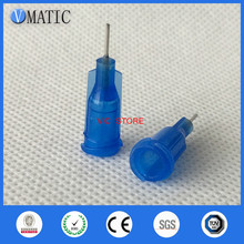 Dispensing Needle-Tips Syringe Stainless-Steel 100pcs/Lot 22G Color-Quality Blue 1/4''-Inch