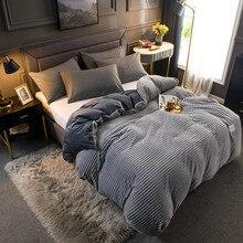 Couverture de couette en velours à Double usage, épaisse et chaude, Double face, pour canapé et lit