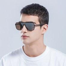 NEW STANDING DESIGN Men Classic Luxury Brand Sunglasses HD Polarized Sun Glasses For Driving TR90 Legs UV400 Protection