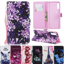 Art Painting Flower Book Wallet Flip Leather Cover Soft Case For Xiaomi Redmi K20 Pro on Xiaomi Mi 9T Mi9T Cases(China)