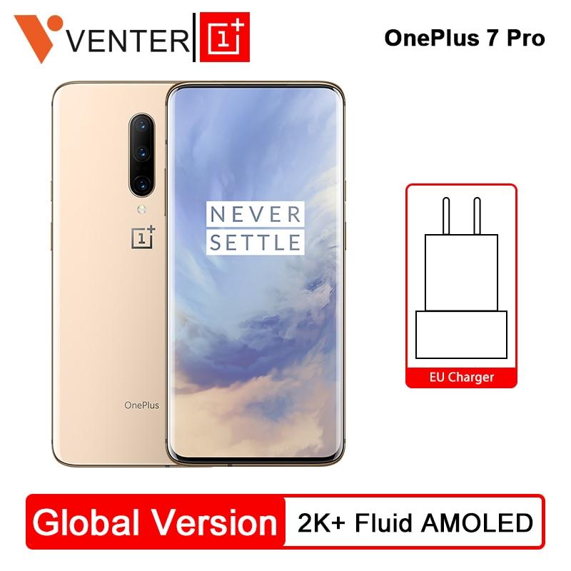 Versão Global Oneplus 7 Pro Telefone Móvel 8 GB 256 GB Snapdragon 855 6.67