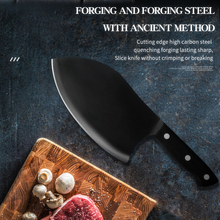 Cleaver-Knife Butcher Stainless-Steel Chinese Black Slicing Chicken-Bone-Cutter-Tools