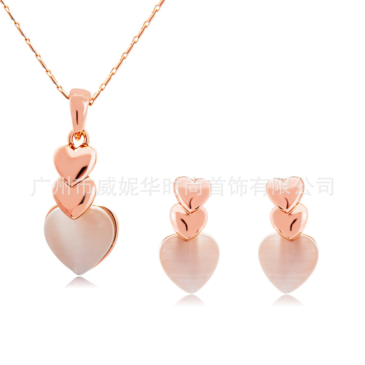 Stud-Set Models Necklace String Eye-Stone America And Viennois Bela Cross-Border Cat's