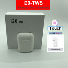 TWS i20 Wireless earphones 5.0 bluetooth earphones Wireless headset support Pop-ups function for iphone(China)