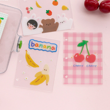 4PCS% 2FLOT Good Time Theme Cute Cartoon PVC Isolated Boards +6% 2A8cm For Mini Coil Book DIY Index Pages Gift