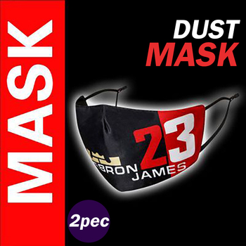 2 pec Fabric Face Mask Drawings kpop Fashion Covers Mouth Mask Men's Washable Reusable Protective Masks For Adult Comfortable
