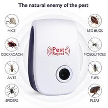Ultrasonic Repeller Spider-Defender Pest Reject Bed-Bug-Mites Home-Supply Roaches Pro