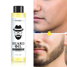 30ml Men Styling Moustache Cream Beard Oil Kit Beard Wax Balm Hair Loss Products Leave-In Conditioner For Groomed Beard Growth