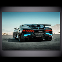 Canvas Paint Car-Poster Picture BUGATTI Chiron Sport No-Frame Wall-Art Bedroom Prints