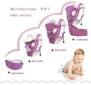 Image 4 - Porta bebé multifuncional mochila ergonómica para bebé 9 en 1 cinturón de transporte para recién nacido de 3 a 36 meses