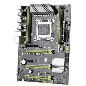 Image 4 - 1 مجموعة أسود + أخضر لوحة دارات مطبوعة + المعادن X79 P3 LGA 2011 ATX لعبة مجلس DDR3 ذاكرة عشوائية NVME M.2 SSD يدعم إنتل سيون الأساسية وحدة المعالجة المركزية