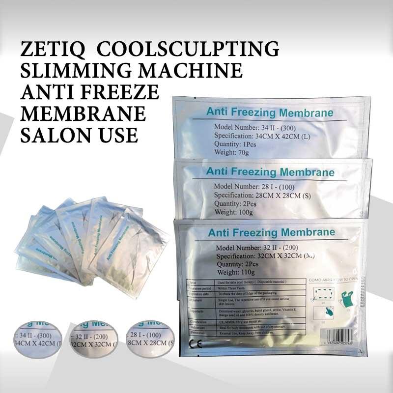 2020 New  Antifreeze Membrane 34*42/32*32/28*28CM Antifreezing Membrane Anti-freezing Membrane Pad For Fat Freezing Machine