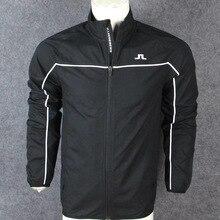Men's Golf Windbreaker Jacket zipper Windbreaker Sportswear Autumn