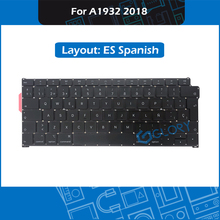 New A1932 Keyboard ES Spanish Layout For Macbook Air 13.3″ Late 2018 Spain standard Keyboard Replacement MRE82