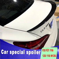 high quality Carbon fiber spoilers for benz CLA W117 CLA200 CLA220 CAL260 rear trunk wing ABS spoiler by 2013 to 2018 + up paint