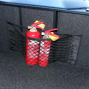 Siatka do bagażnika samochodowego Auto bagaż sieci kieszonka podróżna worek do przechowywania dla kia sportage sorento hyundai ix35 tucson KONA VOLVO XC40 XC60 XC90 tanie i dobre opinie CN (pochodzenie) Pojemnik do bagażnika Torba Nylon Car trunk mesh net Black about 40 x 25cm Universal for all the cars