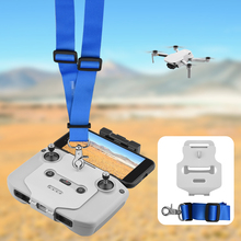 Drone controle remoto acessórios gancho suporte para dji mavic air 2/2s/mini 2 correia ajustável pescoço alça fivela suporte
