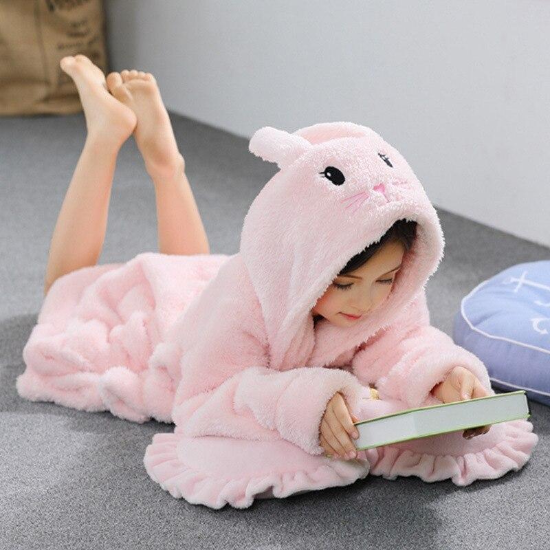 flanela terry roupao bonito coelho rosa roupao 02