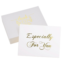 40PCS Thank you Card especially for Cards Valentine Happy Birthday Invitations Letter Christmas Party Wedding Greeting