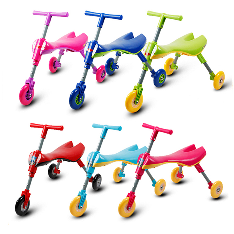 Kids Balance Scooter Tricycle Bike Baby Toddler Ride on Car Indoor Outdoor Toys For Children