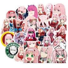 50 Pcs Kawaii Darling In De Franxx 02 Stickers Vinyl Japan Anime Sticker Voor Op Gitaar Laptop Telefoon Ps4 Skateboard pegatina