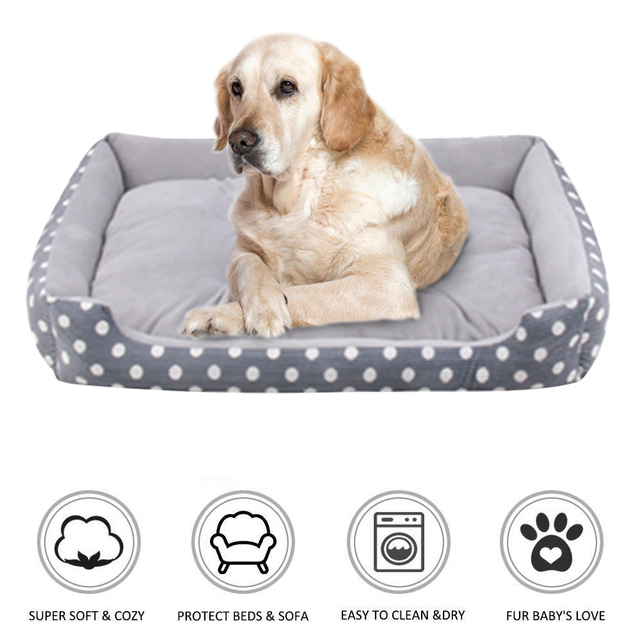 Plush Bed with Removable Pad  2