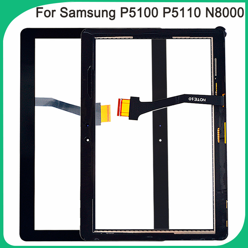 New P5100 Touch Screen For Samsung Galaxy Tab 2 P5100 P5110 N8000 N8010 <font><b>Touchscreen</b></font> Digitizer Repair Panel image