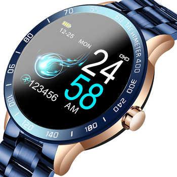 LIGE 2020 New Smart Watch uomo schermo a LED cardiofrequenzimetro pressione sanguigna Fitness tracker orologio sportivo scatola Smartwatch impermeabile