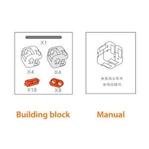 Image 5 - מקורי Xiaomi Mitu קוביית ספינר אצבע לבני אבני בניין אצבע לקשקש נייד מודיעין צעצועי מתנה לילדים ילדים