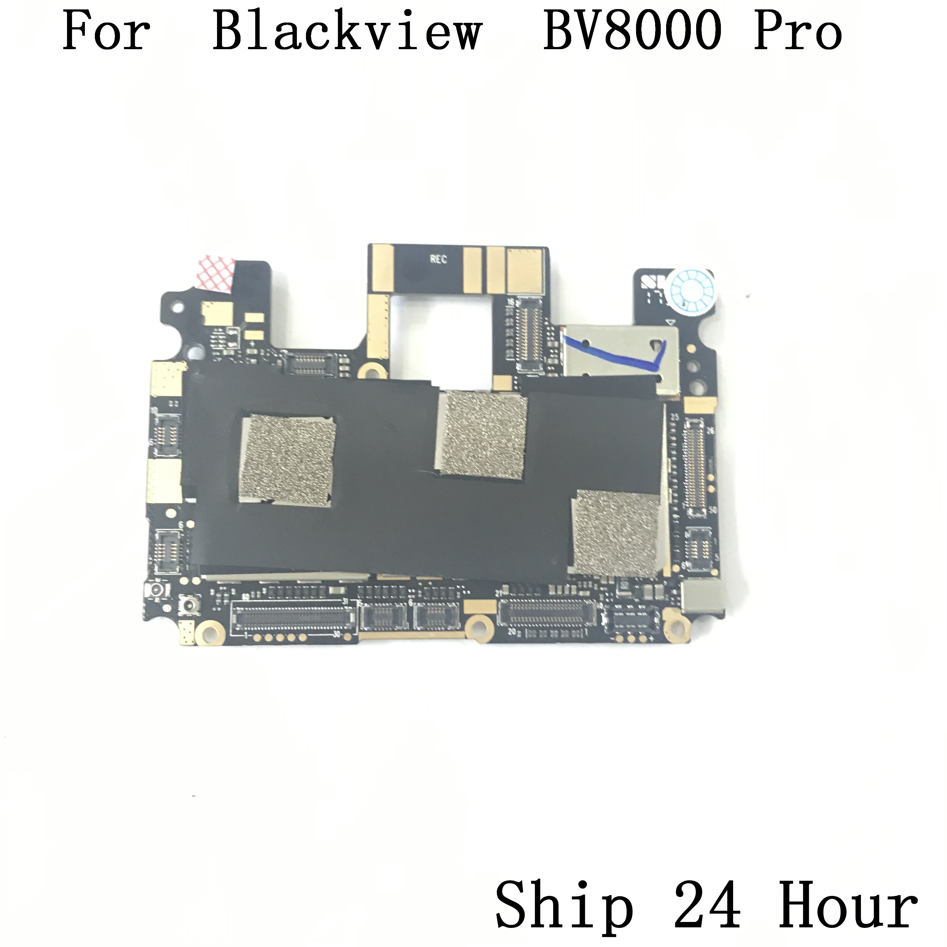 Image 2 - Blackview BV8000 Pro Used Mainboard 6G RAM+64G ROM Motherboard For Blackview BV8000 Pro MT6757 Octa Core  Free Shipping-in Mobile Phone Circuits from Cellphones & Telecommunications