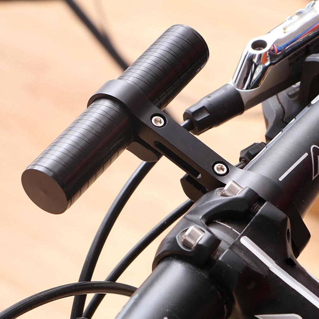 Cycling Bike Bicycle HandleBar Lamp-Bracket Holder Extension Extender Mount 1X